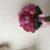 甘いピンクのドレスに