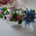 造花の花冠10-001