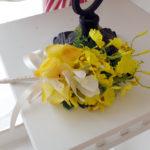 造花のブートニア11-001