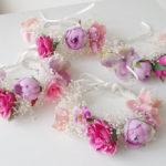 造花のリストレット12-001