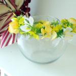造花の花冠10-004